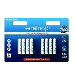 Įkraunami elementai Panasonic Eneloop HR03 750 mAh AAA 8vnt