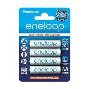 Įkraunami elementai Panasonic Eneloop HR6 1900 mAh AA 4vnt