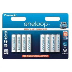 Įkraunami elementai Panasonic Eneloop HR6 1900 mAh AA 8vnt