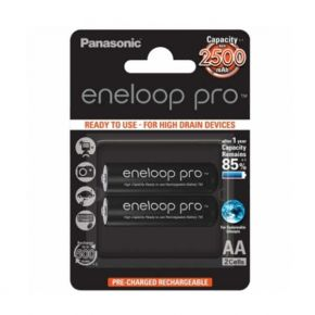 Įkraunami elementai Panasonic Eneloop Pro HR6 2500 mAh AA 2 vnt