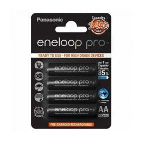 Įkraunami elementai Panasonic Eneloop Pro HR6 2500 mAh AA 4 vnt