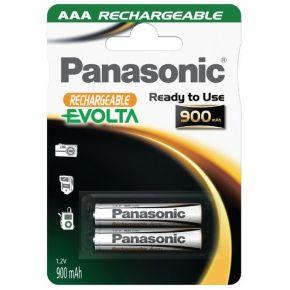 Įkraunami elementai Panasonic Evolta HR03 900 mAh AAA