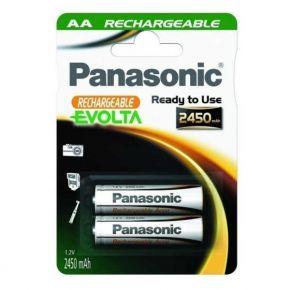 Įkraunami elementai Panasonic Evolta HR6 2450 mAh AA