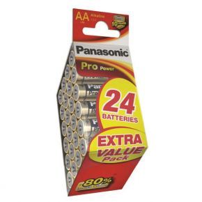 Elementai Panasonic PRO Power LR6 AA 24vnt