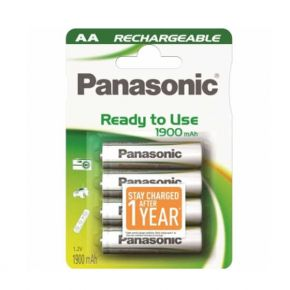 Įkraunami elementai Panasonic Ready to Use HR6 1900 mAh AA  4vnt