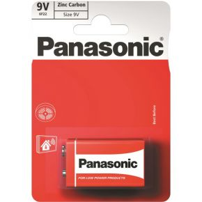 Elementai Panasonic Red Zinc 6F22 9V