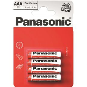 Elementai Panasonic Red Zinc R03 AAA