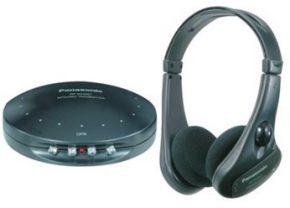 Belaidės ausinės Panasonic RP-WH25-K