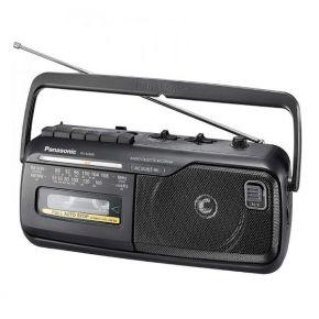 Kasetinis grotuvas su radija Panasonic RX-M40DE-K